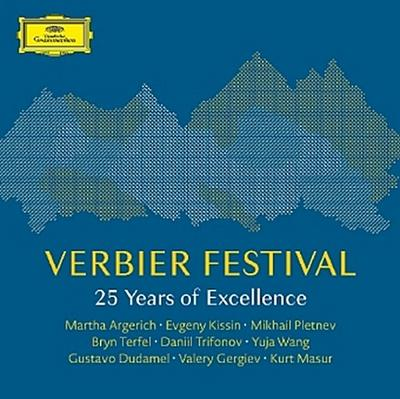 Verbier Festival - 25 Years of Excellence, 4 Audio-CDs