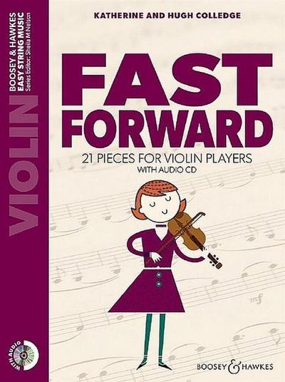 Fast forward (+CD)for violin
