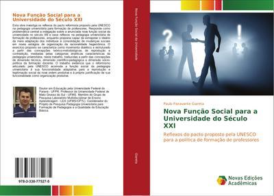 Nova Função Social para a Universidade do Século XXI