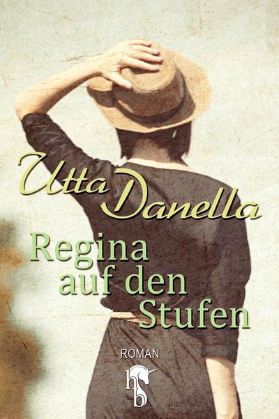 Regina auf den Stufen