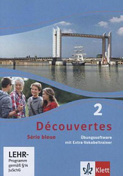 Découvertes - Série bleue Übungssoftware mit Extra-Vokabeltrainer, 1 CD-ROM (Klasse 8)