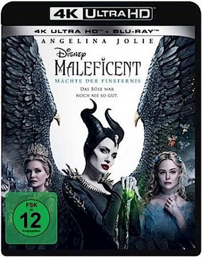 Maleficent - Mächte der Finsternis 4K, 1 UHD-Blu-ray + 1 Blu-ray