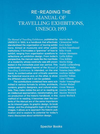 Re-reading the Manual of Travelling Exhibitions, Unesco, 1953