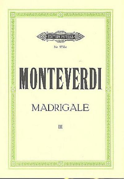 Madrigal Band 3für gem Chor