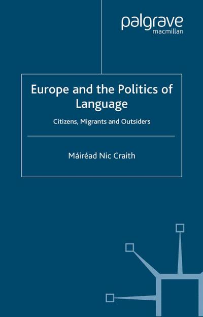 Europe and the Politics of Language