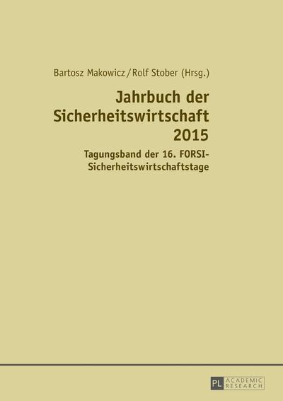 Jahrbuch der Sicherheitswirtschaft 2015