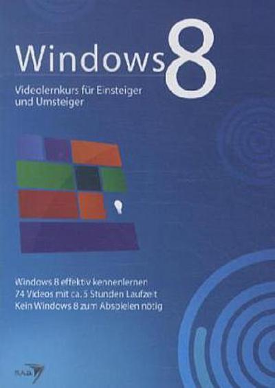Windows 8, Videolernkurs für Einsteiger und Umsteiger, DVD-ROM