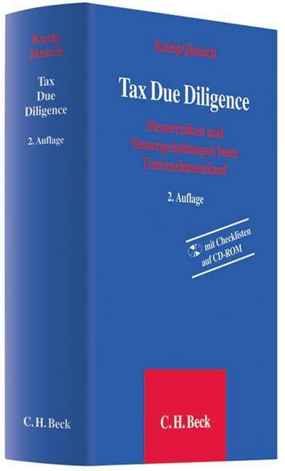 Tax Due Diligence, m. CD-ROM