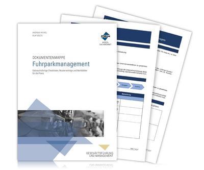 Dokumentenmappe Fuhrparkmanagement