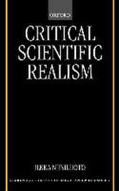 Critical Scientific Realism