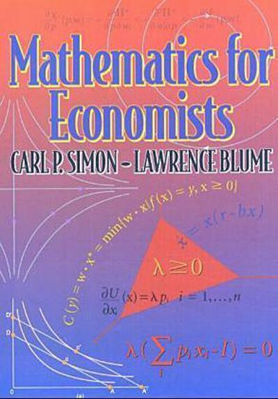 [Mathematics for Economists]Mathematics for Economists BY Simon, Carl P.(Author)Hardcover