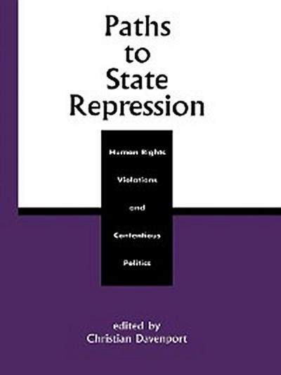 Paths to State Repression