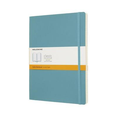 Moleskine Reef Blue Notebook Extra Large Ruled Soft