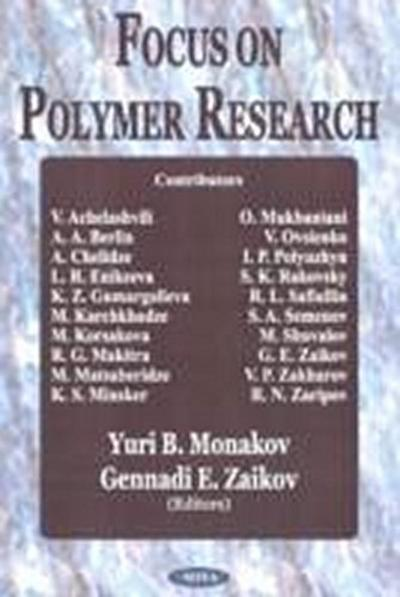 Focus on Polymer Research
