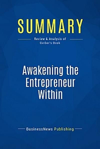 Summary: Awakening the Entrepreneur Within