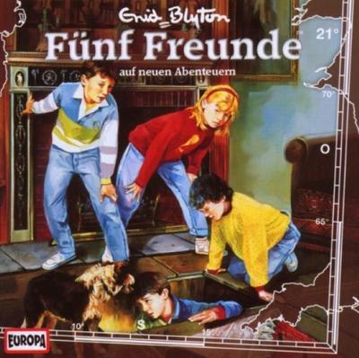 Fünf Freunde 021: ... auf neuen Abenteuer