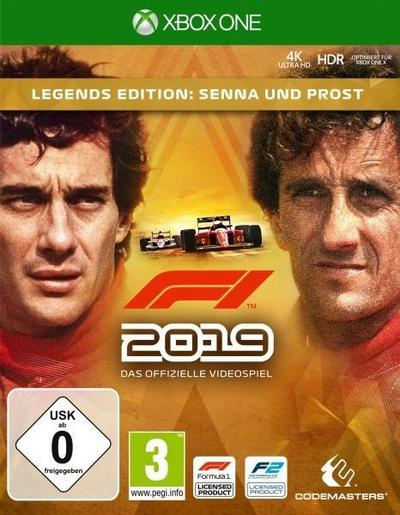 F1 2019 Legends Edition (XBox ONE)
