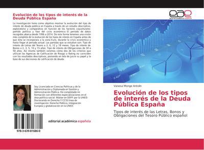 Evolución de los tipos de interés de la Deuda Pública España
