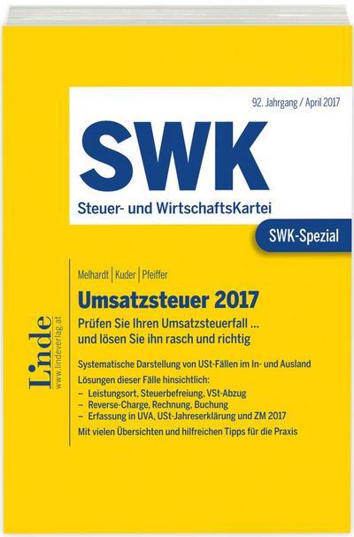 SWK-Spezial Umsatzsteuer 2017