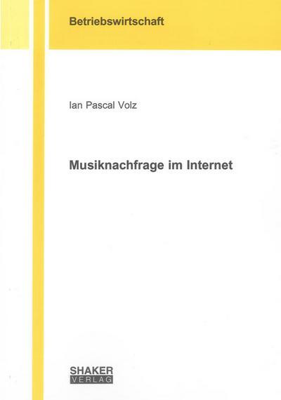 Musiknachfrage im Internet