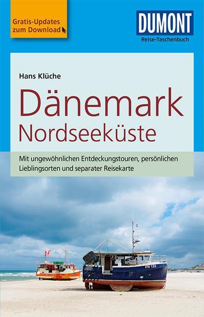 DuMont Reise-Taschenbuch Reiseführer Dänemark Nordseeküste: mit Online Updates als Gratis-Download