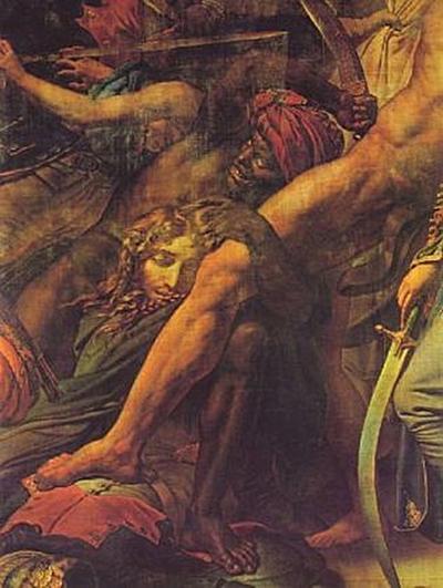Anne-Louis Girodet-Trioson - Die Revolte in Kairo, Detail - 200 Teile (Puzzle)