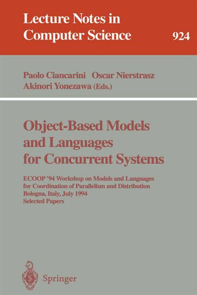 Object-Based Models and Languages for Concurrent Systems