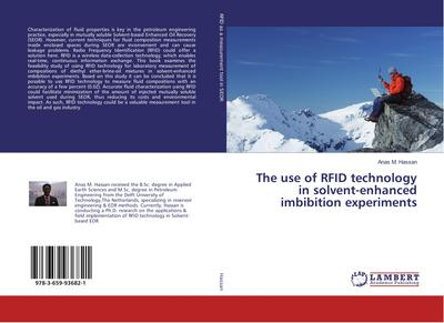 The use of RFID technology in solvent-enhanced imbibition experiments