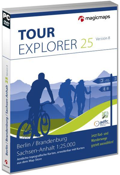 TOUR Explorer 25 Berlin, Brandenburg, Sachsen-Anhalt, Version 8.0