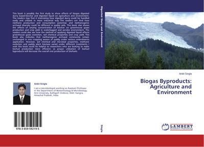Biogas Byproducts: Agriculture and Environment
