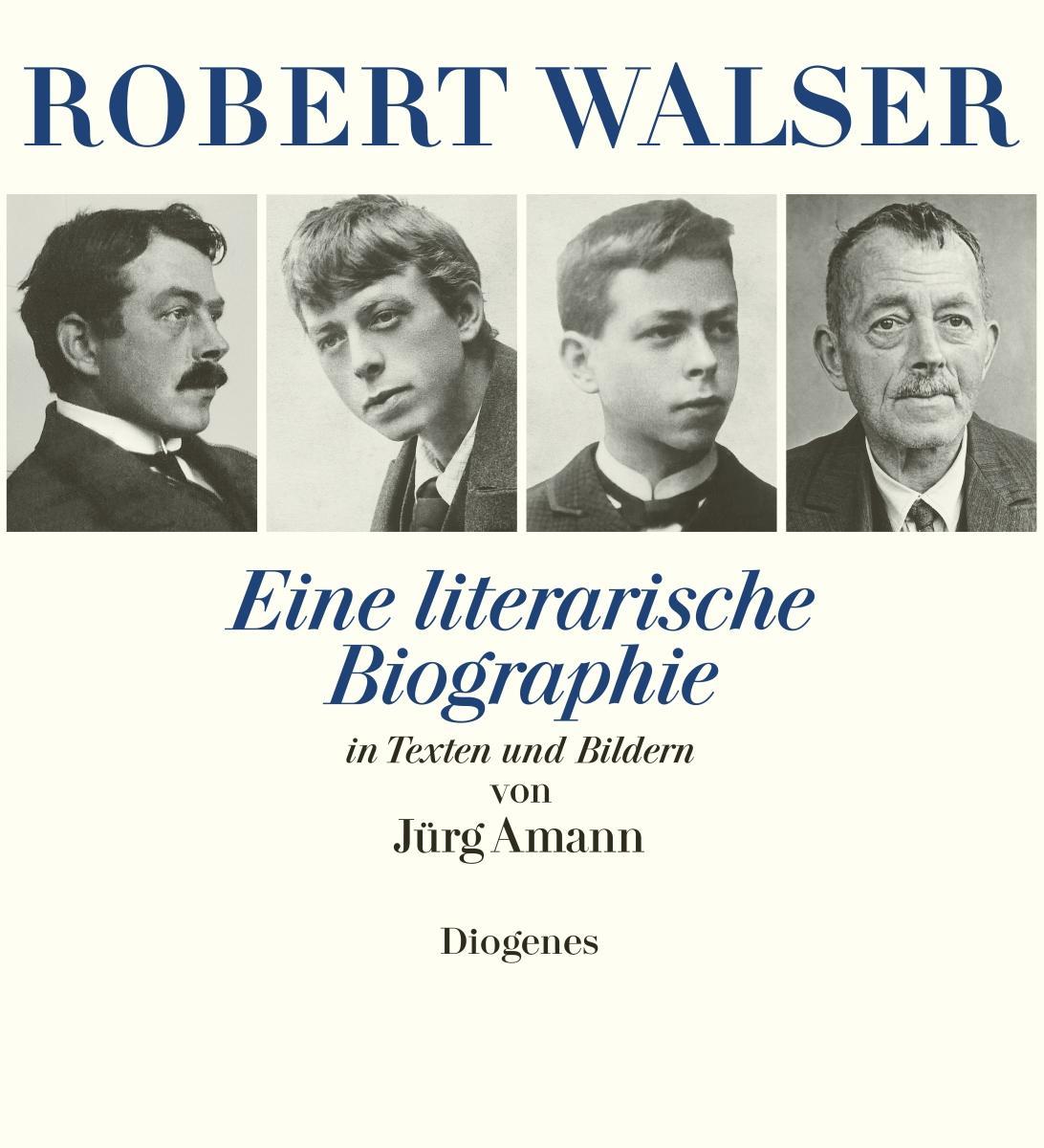 Robert Walser - Jürg Amann -  9783257065534