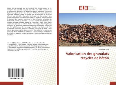 Valorisation des granulats recyclés de béton