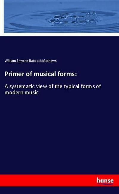 Primer of musical forms:
