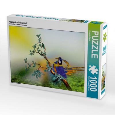 Papageien Schönheit (Puzzle)