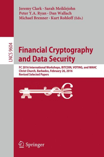 Financial Cryptography and Data Security | Jeremy Clark |  9783662533567