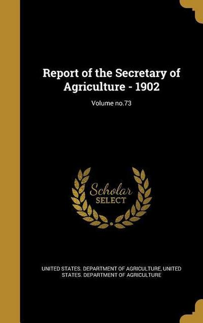 REPORT OF THE SECRETARY OF AGR