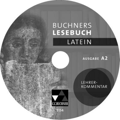 Buchners Lesebuch Latein Lehrerkommentar zu Ausgabe A 2, CD-ROM