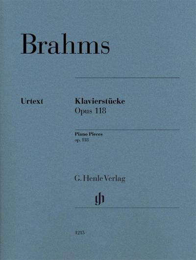 Klavierstücke op. 118