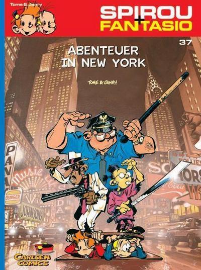 Spirou & Fantasio 37: Abenteuer in New York