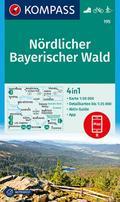 Nördlicher Bayerischer Wald 1 : 50 000