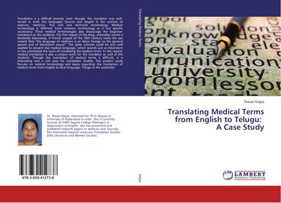 Translating Medical Terms from English to Telugu: A Case Study