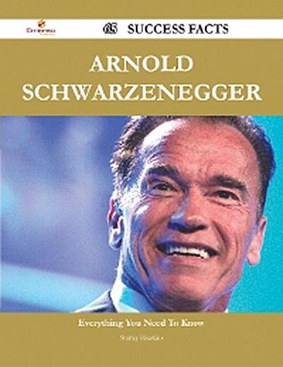 Arnold Schwarzenegger 65 Success Facts - Everything you need to know about Arnold Schwarzenegger