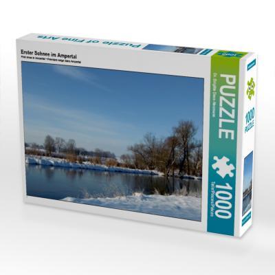 Erster Schnee im Ampertal (Puzzle)