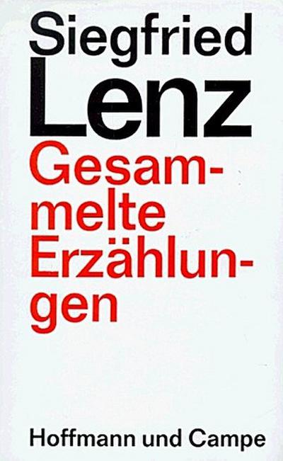 Gesammelte Erzählungen - Verlag Hoffmann Und Campe - Taschenbuch, Deutsch, Siegfried Lenz, Nachw. v. Colin Russ, Nachw. v. Colin Russ