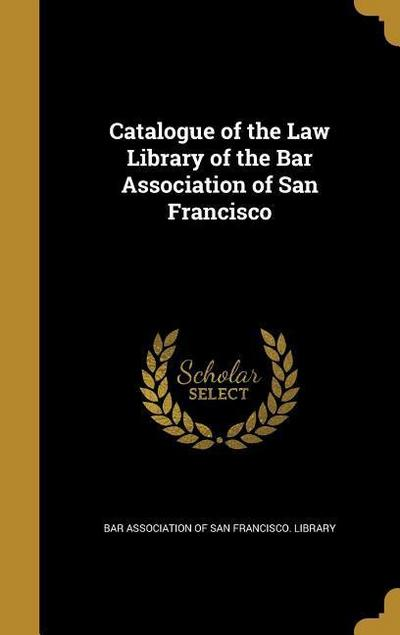 CATALOGUE OF THE LAW LIB OF TH
