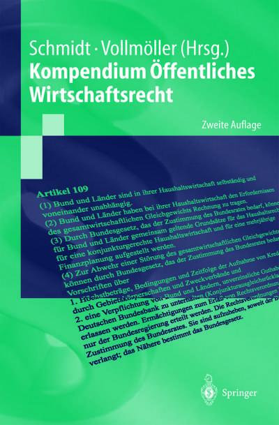 Kompendium Offentliches Wirtschaftsrecht