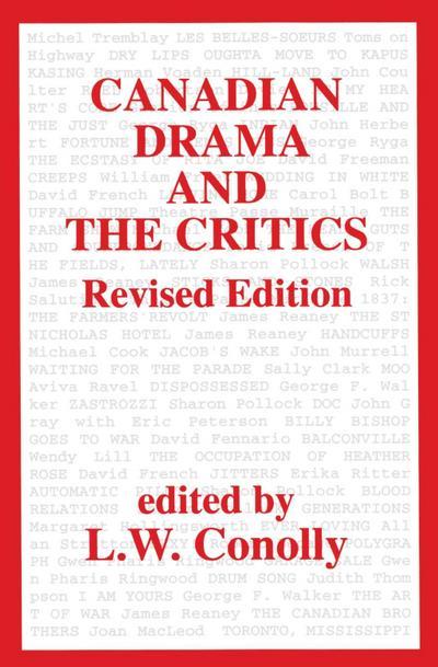 Canadian Drama and the Critics