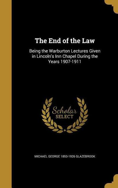 END OF THE LAW