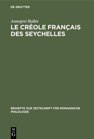 Le créole français des Seychelles