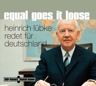 Equal goes it loose, 1 Audio-CD